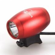 SPO Super brillante a prueba de agua 1800lm LED faro bicicleta lampara aleacion de aluminio bici luz - rojo