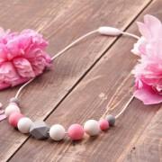 Love and Carry porte-bébés Love And Carry Magnolia Collier de portage en silicone alimentaire