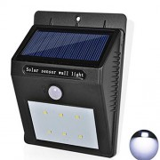MDBINSOM Solar Wall Light Security Light Motion Sensor LED Deck Lights Waterproof Solar Energy Powered Security Light Outdoor Bright Light Wall Lamp for Garden, Outdoor, Fence, Patio Deck, Yard, Driveway