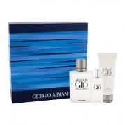 Giorgio Armani Acqua di Giò Pour Homme confezione regalo Eau de Toilette 100 ml + Eau de Toilette 15 ml + doccia gel 75 ml uomo