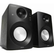 Boxe2.0 Horizon HAV-M1100B Hi-Fi Monitor Active 60W AUX USB Bass Treble Knobs Negru