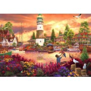 Puzzle Grafika Kids - Chuck Pinson: Love Lifted Me, 100 piese (62151)