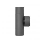 Wandleuchte UpDown Jaci Wall 2x35W GU10 IP54 dunkelgrau 10661