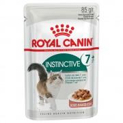 Royal Canin Instinctive +7 en salsa - 24 x 85 g - Pack Ahorro