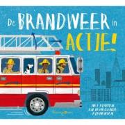 Peuterboek met bewegende elementen: De brandweer in actie!