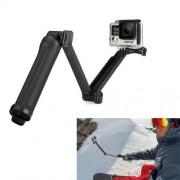 3-Way Monopod + Tripod + Grip Super Portable Magic Mount Selfie Stick for GoPro Hero4 / 3+ / 3 / 2 / SJ4000 Length of Extension: 20-62cm
