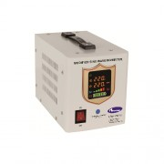 Invertor cu unda sinusoidala modificata 750VA, putere activa 470W, afisaj electronic