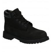 Timberland Premium 6 INCH Zwarte Boots - Zwart - Size: 35
