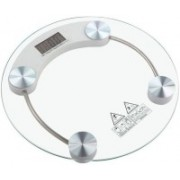 Credence Digital Thick Tempered Glass Body Weighing Scale(White)