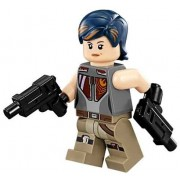 LEGO Star Wars: Rebels - Sabine Wren Minifigure with Dual-Sided Face and Dual Blasters from 75090