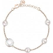Morellato Stříbrný náramek s perlami Gemma Perla SATC08