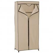 Преносим гардероб от текстил[neu.holz]® Stuttgart 160 x 70 cm, Бежов