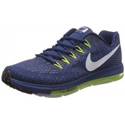 Nike Men's Air Zoom Pegasus All Out Flyknit Blue/Green Running Shoes - 7.5 UK/India (42 EU)(8.5 US)(844979-600)