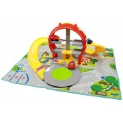 My First Fold-able Parking Garage Vehicle Car Play Set with Road Rug