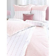 Janine Bettbezug ca. 155x220cm, Kissenbezug ca. 80x80cm Janine mehrfarbig Wohnen mehrfarbig