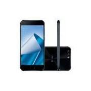Smartphone Asus Zenfone 4, Preto, ZE554KL, Tela de 5.5, 64GB, 12MP