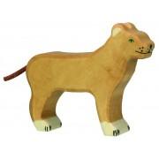 Fa játék állatok - oroszlán, nőstény
