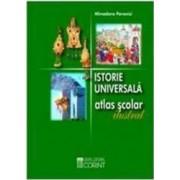 Istorie universala atlas scolar ilustrat 2008 - Minodora Perovici