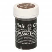 Sugarflair Paste Colour Pastel WOODLAND BROWN 25g