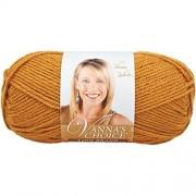 Lion Brand Yarn Vanna's Choice Ovillo de Lana, Honey, 1 uds. por Paquete