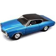Maisto 1:18 Chevy Chevelle Ss 454 Coupe Die Cast Vehicle Toy For Kids