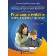 Programe orientative pentru disciplinele optionale