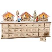 Diverse Julkalender julmarknad - Paket kalender träd 1290