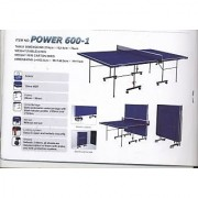Kamachi Tennis TT Table (Big Power-600)