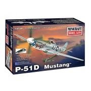 Minicraft P-51D Mustang (Mingf) (20 Piece), No