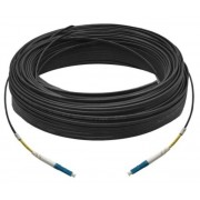 30M Simplex Single Mode UPC LC-LC Fiber Optic Cable Fiber Patch Cord Outdoor Drop Cable