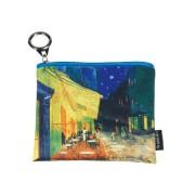 FRI.19271 Mini pénztárca 12x1,5x10cm, Van Gogh: Kávéház éjjel