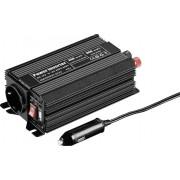 Invertor undă sinusoidală modificată 12 V/DC, 300 W, Goobay SPW 300 USB
