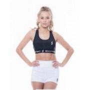 Marbella női edző short fehér M Scitec Nutrition