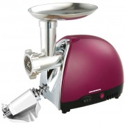 Masina de tocat Heinner 1600 W, accesoriu rosii si carnati, cutit inox
