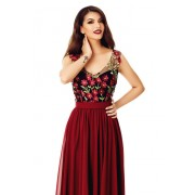 Maysa Dress-bordo
