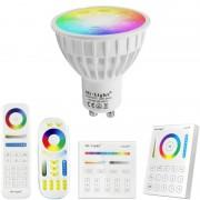 Milight RGBWW Wifi LED lamp set met afstandsbediening 4W GU10