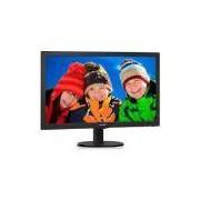 Monitor Led Philips 243v5qhab 23.6p Hdmi Speaker - Hdf2t76qatphhny