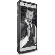 Husa Ringke Samsung Galaxy Note 7 Max Gun Metal +Folie Ringke Invisible Defender Screen Protector