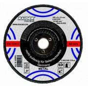 Диск за шлайфане за пневматичен ъглошлайф ф100мм 6x16мм - Raider