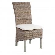 Set de 2 scaune design rustic Rattan III