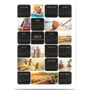 Optimalprint Fotoaffischer kalender, 1 st, kalender, svart, klassiskt, Optimalprint