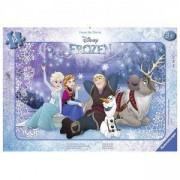 Детски пъзел - Замръзналото кралство, 15 елемента, Ravensburger, 7006127