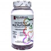 Multivitaminico para Mujeres 150 gomitas Belabear Solanum