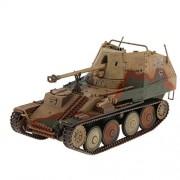 Homyl WWII Military Marder III Sd.Kfz 139 German Tank Model Toy Collectibles 1:32