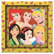 Puzzle 60 piezas Princesas Disney con Marco - Clementoni
