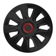 Set 4 Capace Roti Auto 15 Inch Versaco Stratos RR, Negru