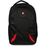 7AADI HP-Trendy Backpack Red-7AADI Waterproof Backpack(Black, 17 inch)