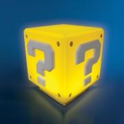 Paladone Lámpara cubo interrogante Super Mario (amarillo) - Nintendo