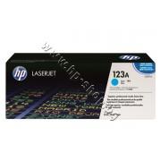 Тонер HP 123A за 2550/2800, Cyan (2K), p/n Q3971A - Оригинален HP консуматив - тонер касета