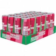 Pro Brands 24 x Pro Brands BCAA Drink, 330 ml, Watermelon/Strawberry
